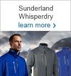 Sunderland WhisperDry outerwear