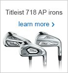Titleist AP 718 irons
