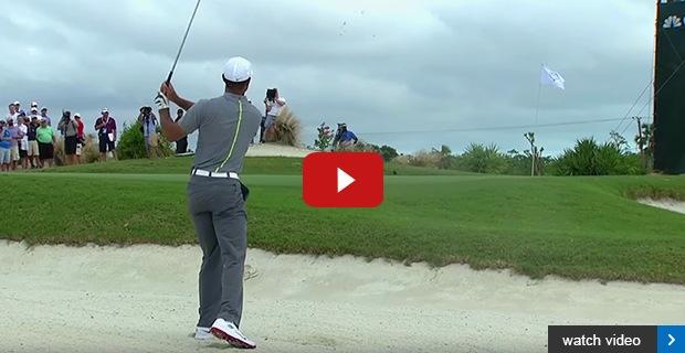 Tiger Woods makes positive comeback